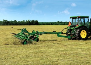 The TD3427 Hay Tedder is an economical large-field solution.