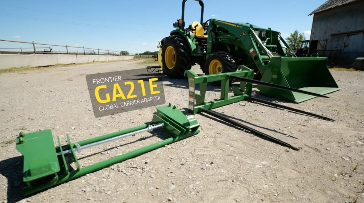 How using a loader carrier adapter can multiply the styles of loader attachments you can own and use.